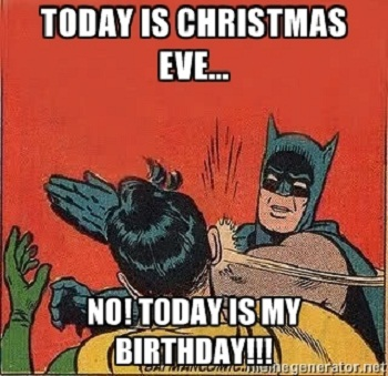 happy christmas eve birthday