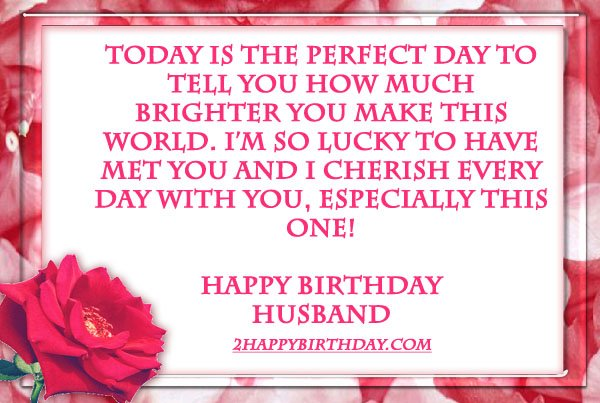 Happy Birthday Wishes Quotes for Husband 2HappyBirthday – Happy Birthday Cards for My Husband