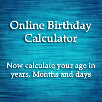Birthday Calculator