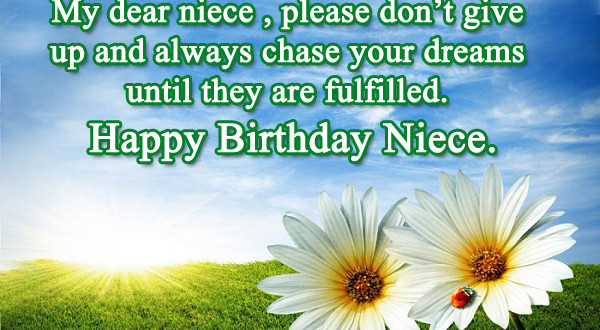 25 Happy Birthday Niece Sweet Quotes Messages