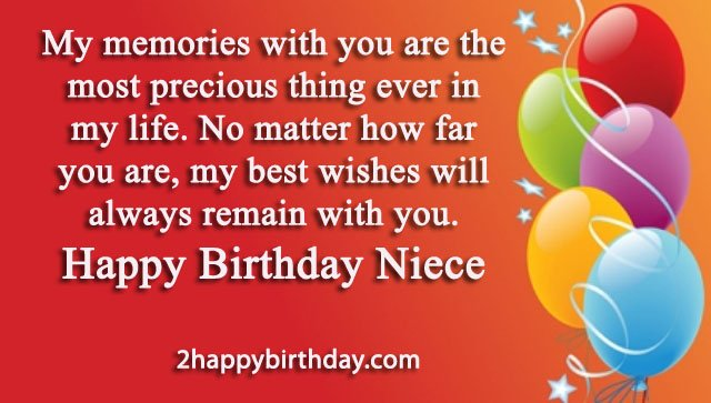 25 Happy Birthday Niece Sweet Quotes Messages Happy Birthday To Niece Wishes