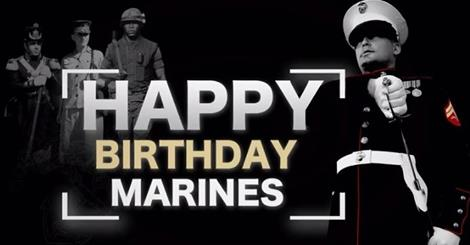 Marine corps 242nd birthday images quotes wishes 2happybirthday 240th marine corps birthday bookmarktalkfo Gallery