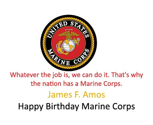 Marine corps 242nd birthday images quotes wishes 2happybirthday marine corps amos quote bookmarktalkfo Gallery