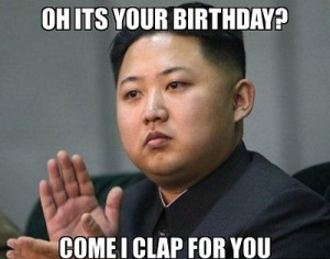 Happy Birthday Kim Jong-Un Meme