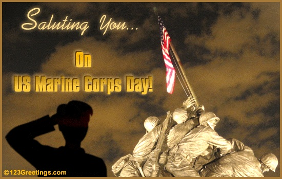 saluting-us-marine-corps-day