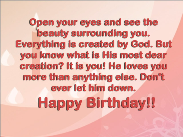 Christian Birthday Quotes Wishes