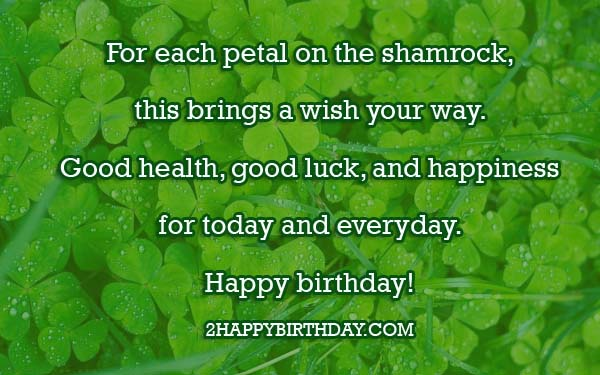 Happy Birthday Messages Wishes In Irish