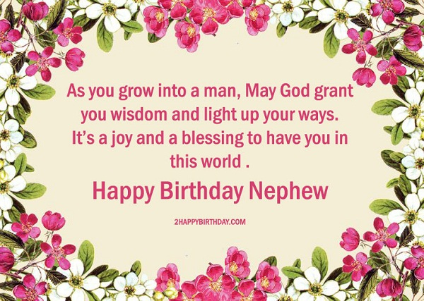 25 Lovable Birthday Wishes For Nephew 2happybirthday Happy Birthday Wishes To Nephew