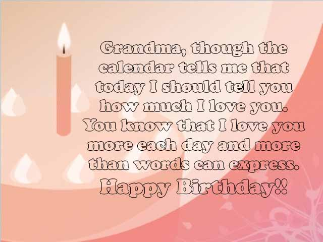 I Love You Grandma Quotes Best Sweet 48 Happy Birthday Grandma Wishes And Quotes 48HappyBirthday