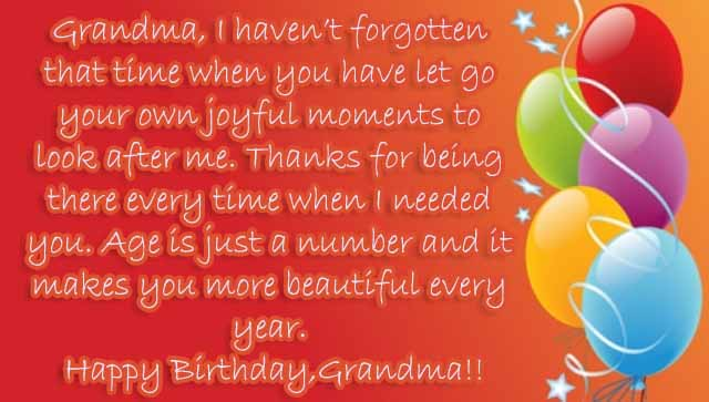Sweet #25+ Happy Birthday Grandma Wishes and Quotes ...