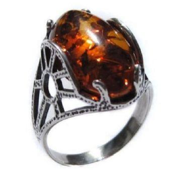 honey-amber-sterling-silver-oval-ring-gift-birthday