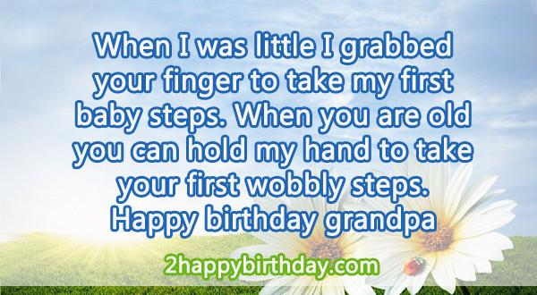 Happy Birthday To Grandpa Cake