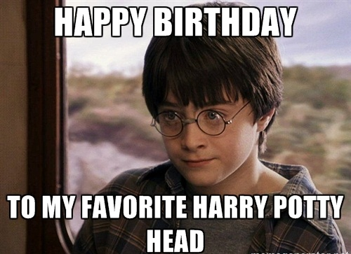 Harry Potter Happy Birthday Meme For Kids