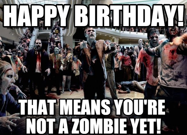 Happy Birthday Walking Dead Meme