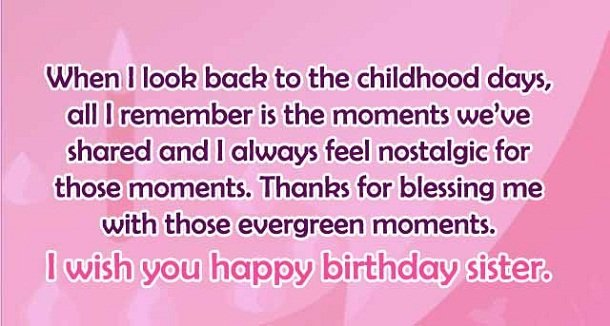 Best happy birthday wishes for sister 2happybirthday birthday quotes sister m4hsunfo