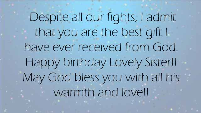 best happy birthday wishes for sister 2happybirthday