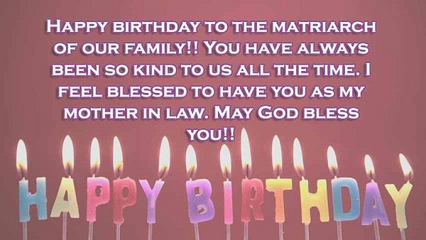Mother-in-law Birthday Quotes