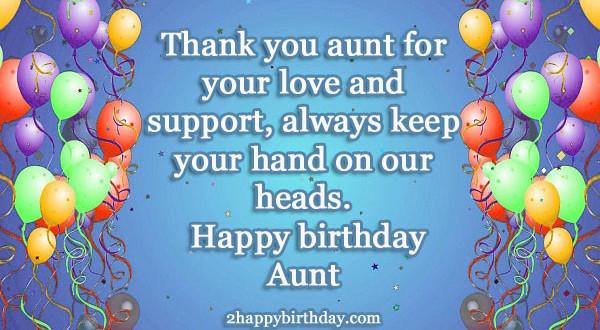 Happy Birthday Auntie Wishes & Quotes - 2HappyBirthday