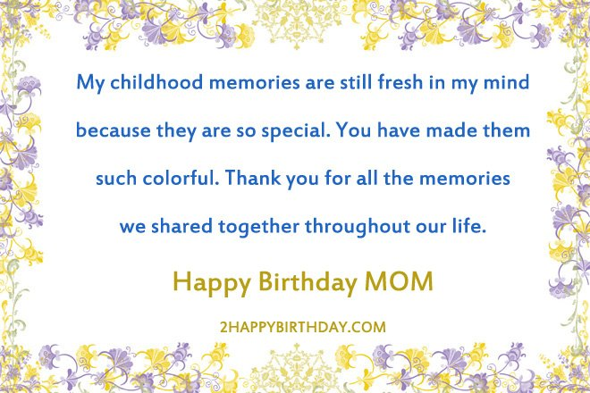 Top 25 Beautiful Birthday Wishes For Mom Birthday Messages For