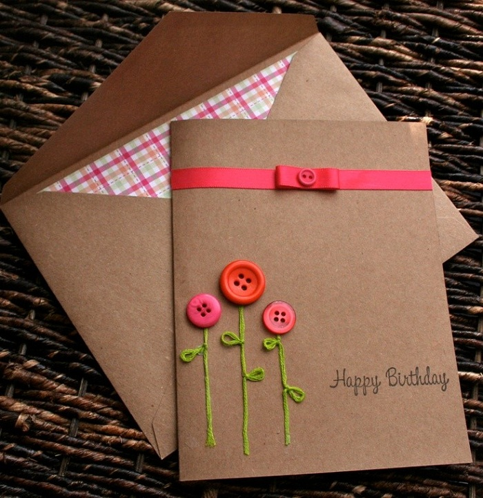 DIY Birthday Card Ideas Methods 2HappyBirthday – Homemade Birthday Cards Ideas