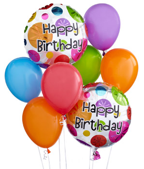 Happy Birthday Balloons Kids