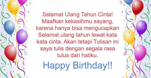 Terbaik Ucapan Selamat Ulang Tahun Untuk Sahabat 2happybirthday