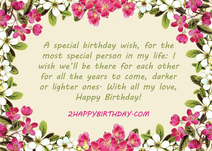 Best Birthday Wishes Messages For Boyfriend 2HappyBirthday – Special Birthday Greeting