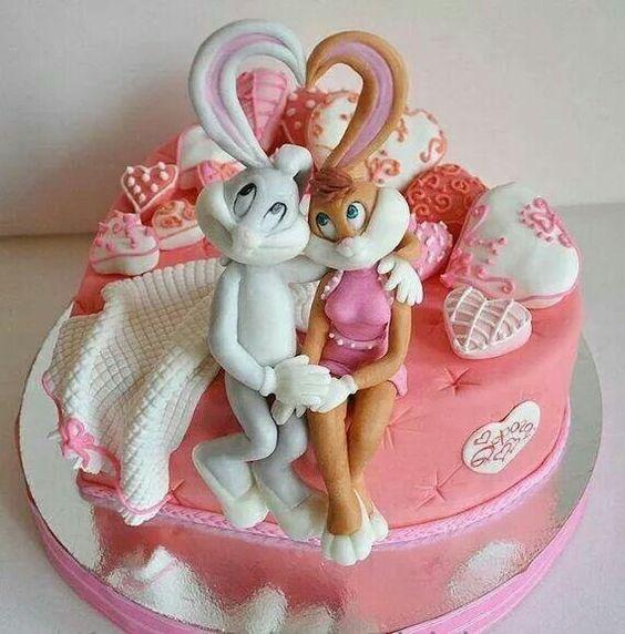 bugs-bunny-girlfirnd-birthday-cake