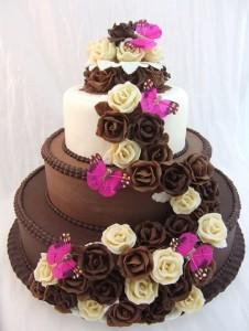 chocolateflowerbirthdaycakegirlfriend 2HappyBirthday