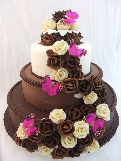 Chocolate Birthday Cake For Girls