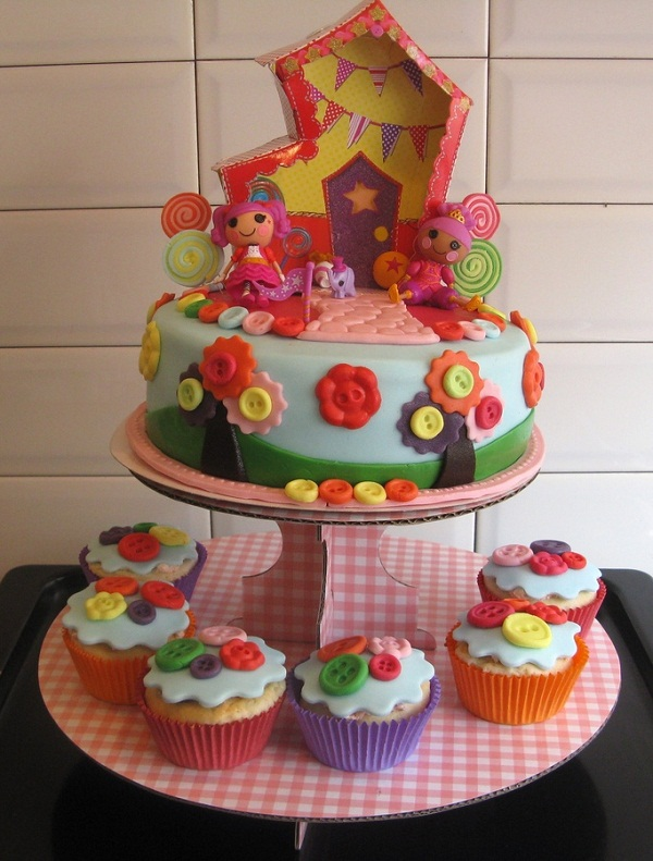 Wondrous Lalaloopsy Birthday Cake For Little Girls 2Happybirthday Funny Birthday Cards Online Inifodamsfinfo