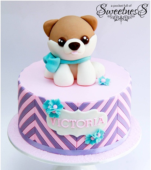 puppy birthday cake puppy birthday cake ideas for girls   2HappyBirthday puppy birthday cake
