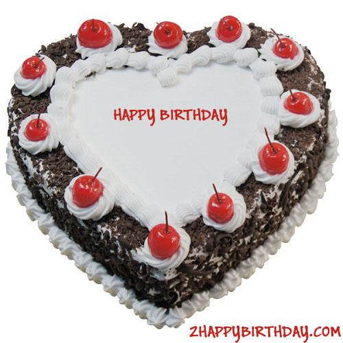 Heart Shaped Black Forest Birthday - 56.5KB