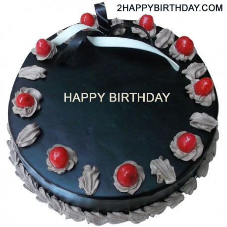 Happy Birthday Chocolate Cake With Name 2happybirthday