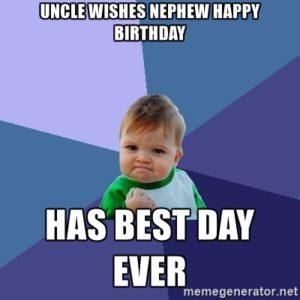 Uncle Wish Birthday Nephew 2happybirthday