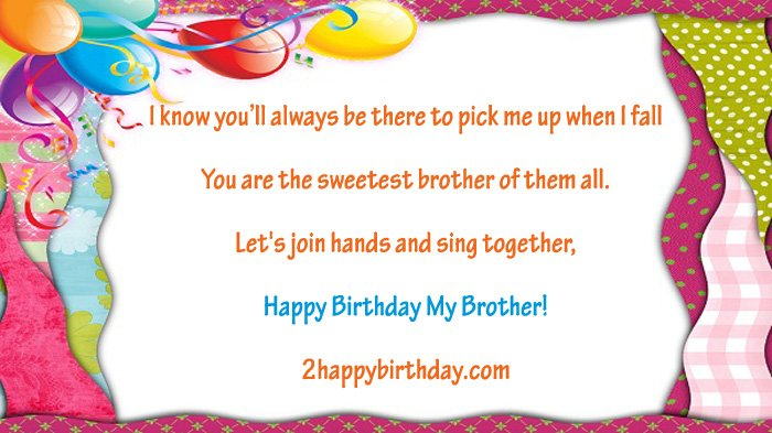 Unique Birthday Wishes Quotes For Brother 2happybirthday