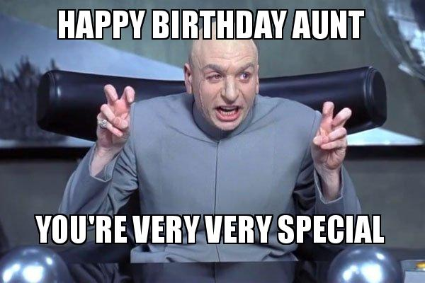 Humorous Birthday Memes For Aunt 2happybirthday