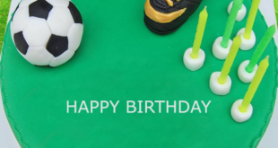 This Is Birthday Cake For The Person Who A Football Fan Write Name Of Fanatic Download Then Send It Over
