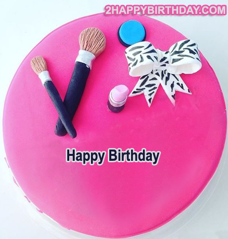 Happy Birthday Makeup Cake For Girls 2happybirthday