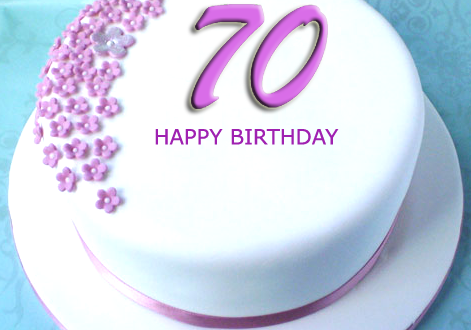 Amazing 70Th Birthday Cake With Name 2Happybirthday Funny Birthday Cards Online Fluifree Goldxyz