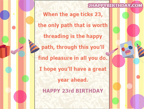 Happy birthday wishes in greek 2happybirthday happy 23rd birthday quotes card with name m4hsunfo