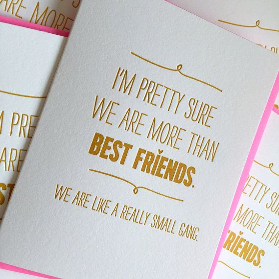 Best friend card ideas