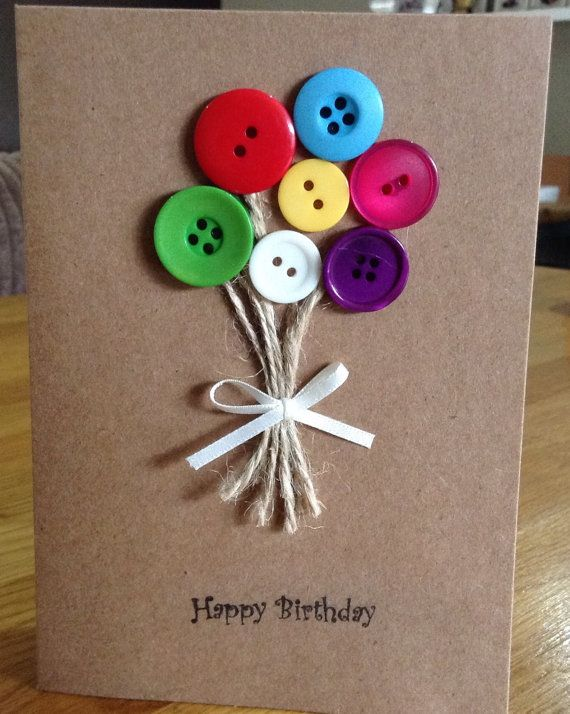 Making Birthday Card Ideas Part - 36: 1) Sweet Birthday Card For Your Sibling
