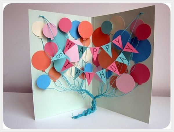 10 Cool Handmade Birthday Card Ideas 2happybirthday