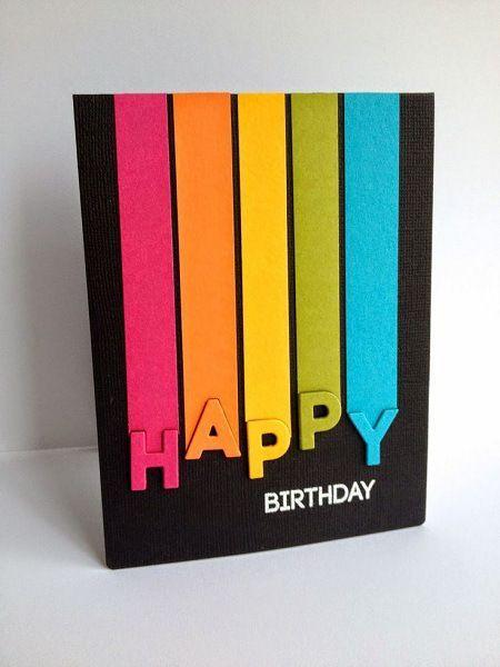 10 Cool Handmade Birthday Card ideas 2HappyBirthday – Handmade Birthday Card
