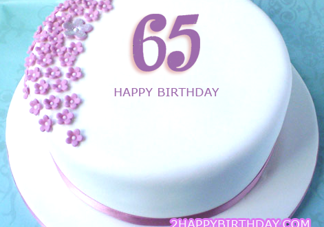 Terrific Happy 65Th Birthday Cake Image With Name 2Happybirthday Funny Birthday Cards Online Elaedamsfinfo