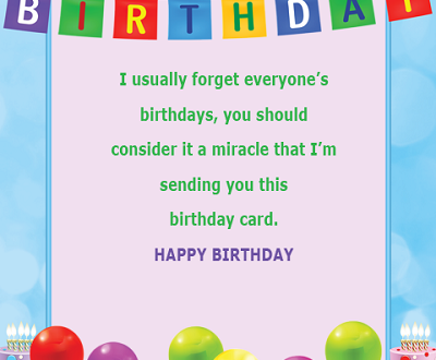 Funny Birthday Card For Friends With Name