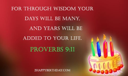17 Motivational Bible Verses For Birthday
