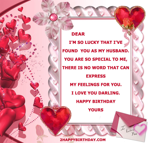 Download Birthday Card For Husband