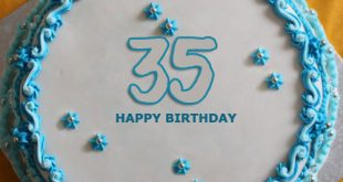 Here We Have Added Personalized 35th Birthday Cake You Can Write The Desired Name And Then Save It Your Phone By Clicking Download Button